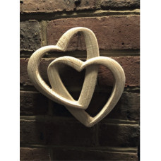 3D Interlinked Love Hearts